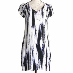 Aqua Purple Obsidian Hi-Lo Shift Dress NWOT Sz XS
